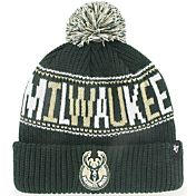 '47 Men's Milwaukee Bucks Green Knit Hat