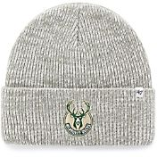 '47 Men's Milwaukee Bucks Grey Knit Hat