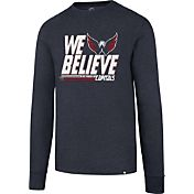 '47 Men's 2017 NHL Stanley Cup Playoffs Washington Capitals Navy Long Sleeve T-Shirt