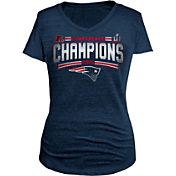5th & Ocean Women's AFC Champions New England Patriots Tri-Blend Navy T-Shirt