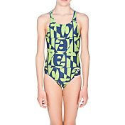 arena Girls' Gallery Pro Back Swimsuit