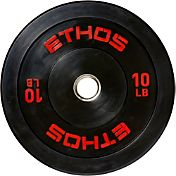 ETHOS 10 lb. Olympic Rubber Bumper Plate