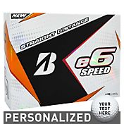 Bridgestone e6 SPEED Personalized Golf Balls