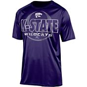 Champion Men's Kansas State Wildcats Purple Impact Basketball T-Shirt