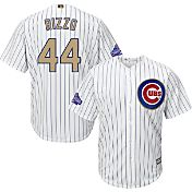 Majestic Men's Chicago Cubs World Series Champs Anthony Rizzo #44 Cool Base Home White Jersey