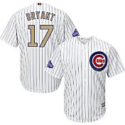 Majestic Youth Chicago Cubs World Series Champs Kris Bryant #17 Cool Base Home White Jersey