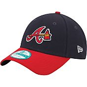 New Era Men's Atlanta Braves 9Forty Navy Adjustable Hat