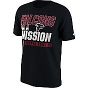 Nike Men's Super Bowl LI Bound Atlanta Falcons Mission Black T-Shirt