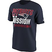 Nike Men's Super Bowl LI Bound New England Patriots Mission Navy T-Shirt