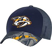 Reebok Men's Nashville Predators Structured Flex Hat