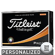 Titleist Pro V1 High Numbers Personalized Golf Balls